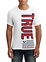 MENS TWO TONE FLAG GRAPHIC TEE