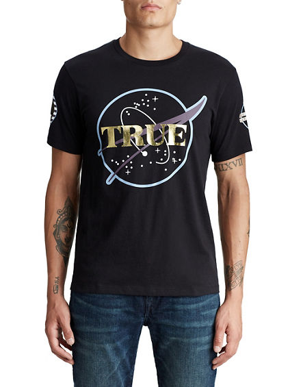 MENS ASTRO CREW GRAPHIC TEE