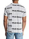 MENS ALLOVER LETTER GRAPHIC TEE