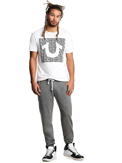 MENS QUILTED MOTO JOGGER
