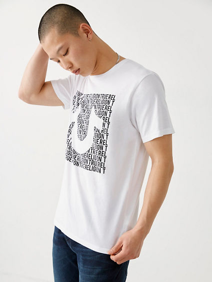 MENS HORSESHOE LOGO TEE