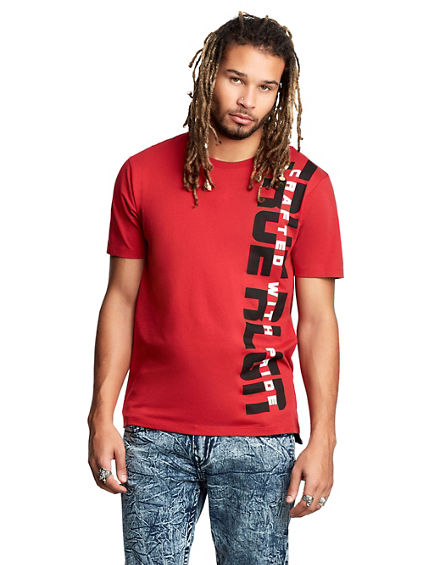 MENS TWO TONE PRIDE GRAPHIC TEE