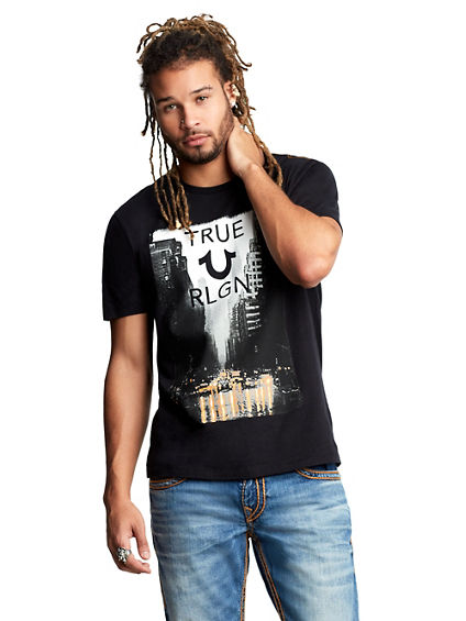 MENS TRUE CITY GRAPHIC TEE