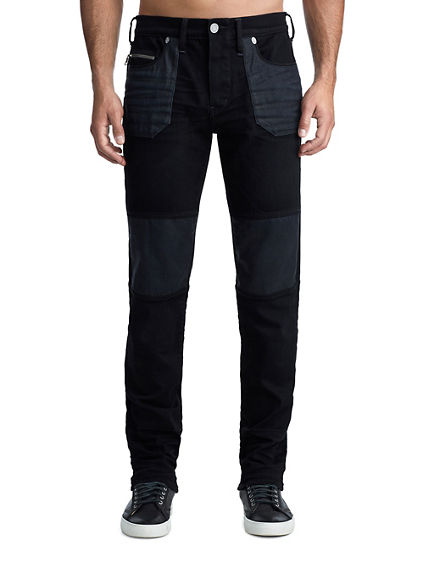 MENS UTILITY ZIPPER GENO SLIM JEAN