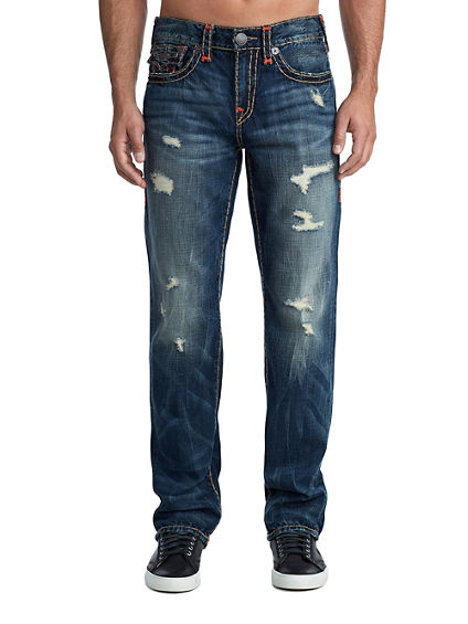 MENS MULTI SUPER T RICKY STRAIGHT JEAN