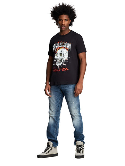 MENS SKULL WORLD TOUR TEE
