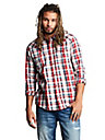 MENS PLAID BUTTON DOWN SHIRT