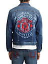 MENS TR X MANCHESTER UNITED EMBROIDERED DENIM JACKET