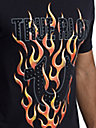 MENS FLAME GRAPHIC TEE