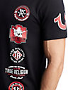 MENS LOGO PATCH GRAPHIC TEE