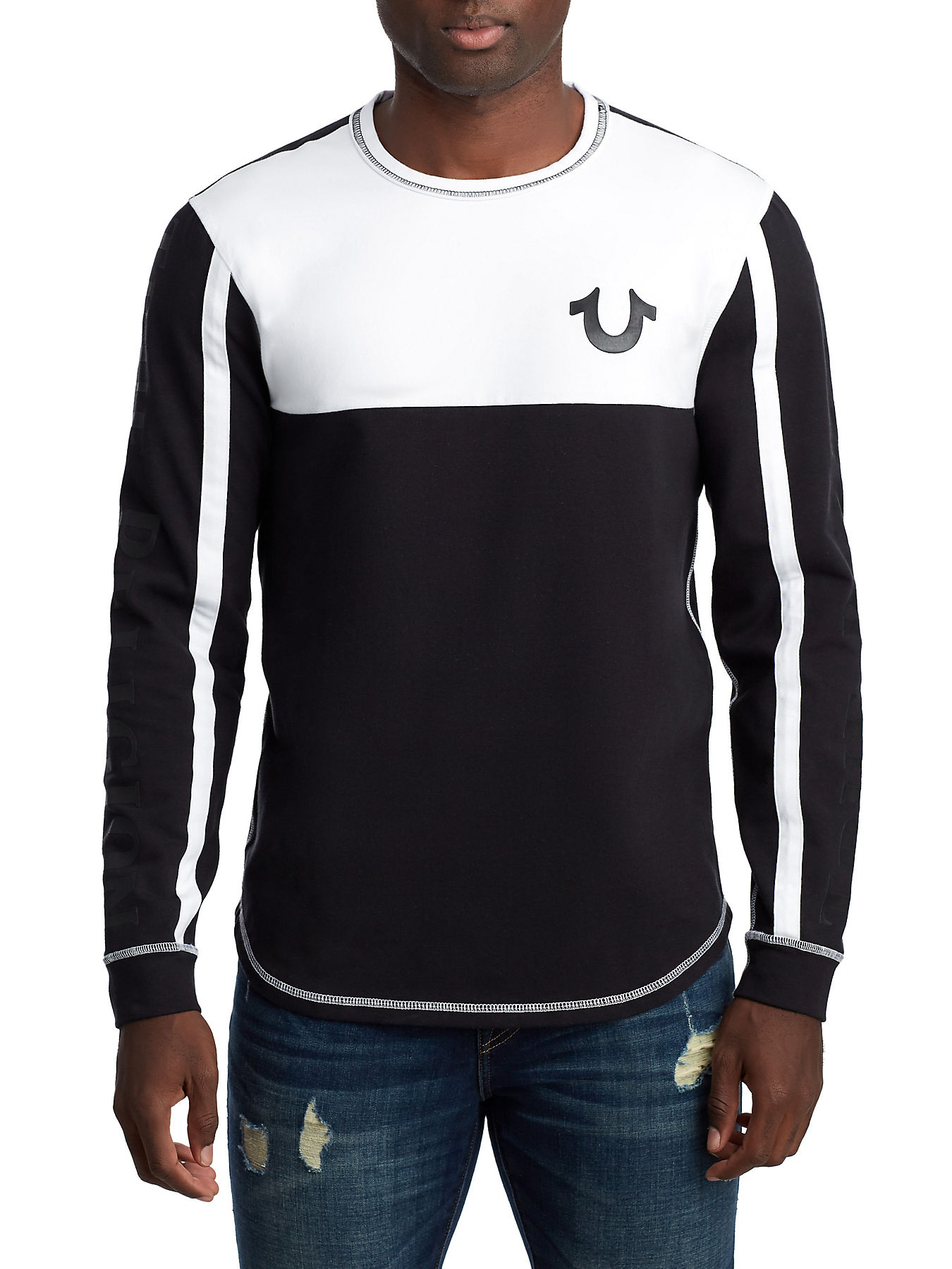 f733486392a MENS INSET RACER LONG SLEEVE TEE