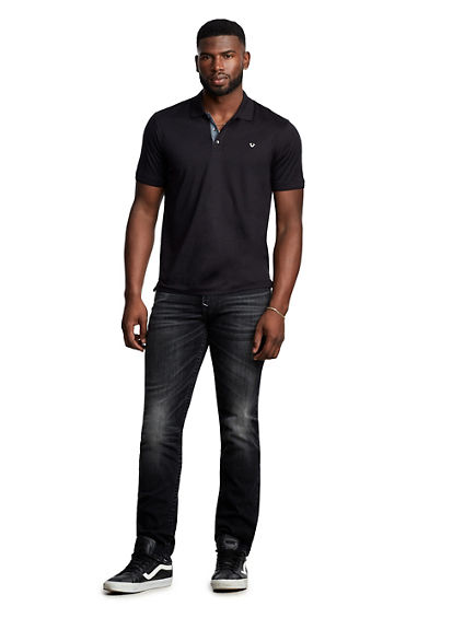MENS PLACKET POLO SHIRT