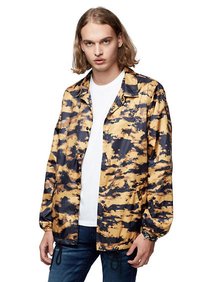 ALLOVER PRINT COACH JACKET