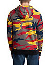 MENS CAMO BUDDHA GRAPHIC PULLOVER HOODIE