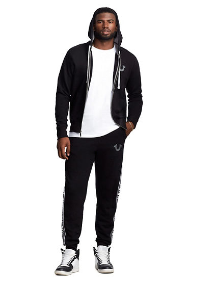 MENS MESH PANEL JOGGER SWEATPANT