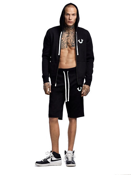 RAW EDGE LOGO SWEATSHORT