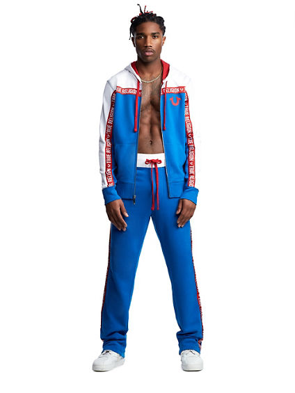 MENS LOGO TAPE SWEATPANT