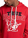 MENS BUDDHA GRAPHIC PULLOVER HOODIE