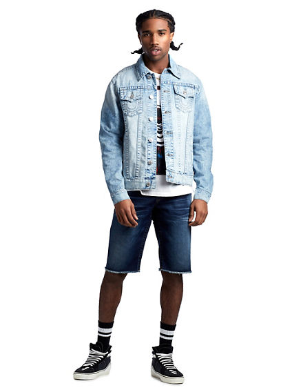 MENS DESERT TRUCKER JEAN JACKET