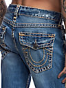 MENS RICKY STRAIGHT SUPER T JEAN W/ FLAP
