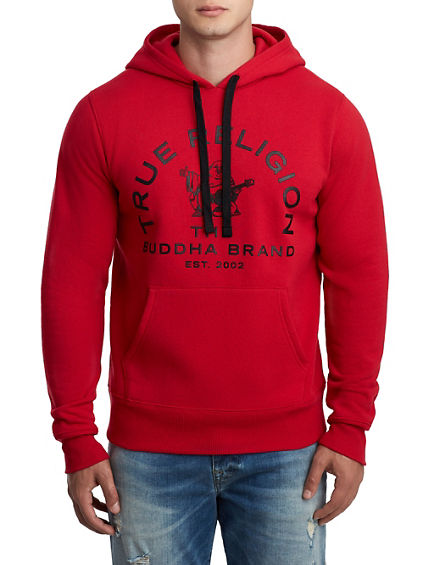 MENS ONLINE EXCLUSIVE BUDDHA PULLOVER HOODIE