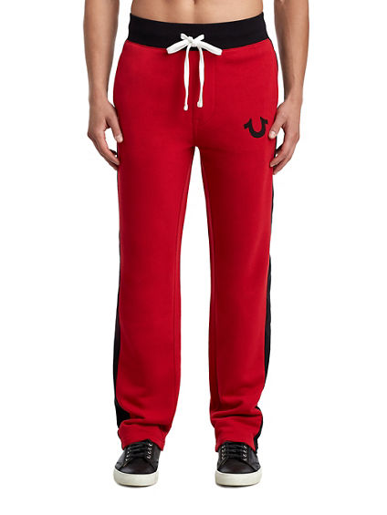 MENS SPORT PANEL SWEATPANT