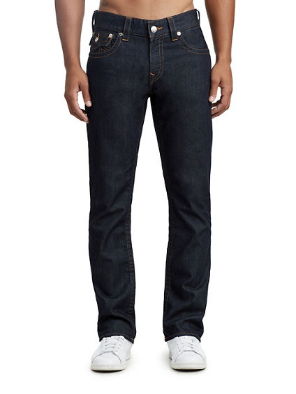 MENS CONTRAST STRAIGHT JEAN W/ FLAP