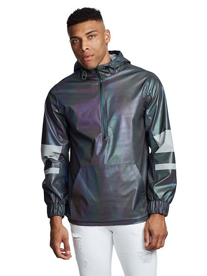 REFLECT IRIDESCENT PULLOVER JACKET