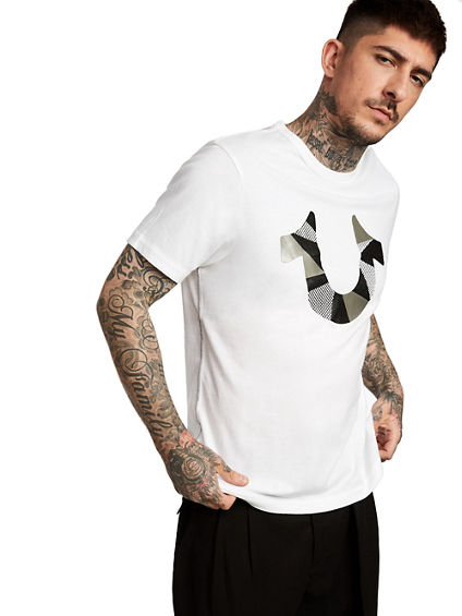 HORSESHOE FRAGMENT TEE