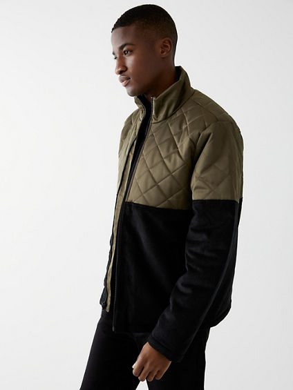 QUILTED CORDUROY JACKET