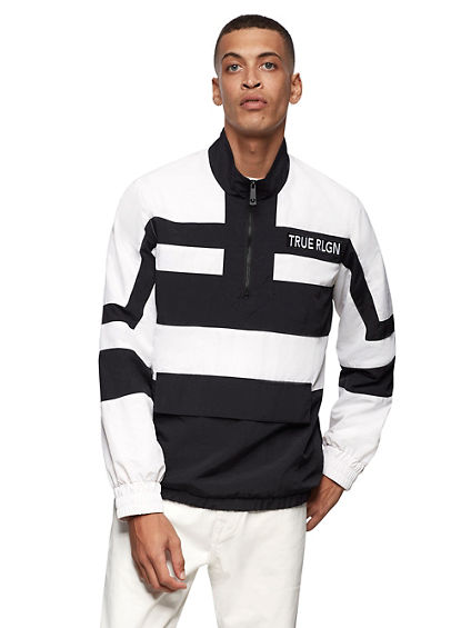 NYLON STRIPE JACKET