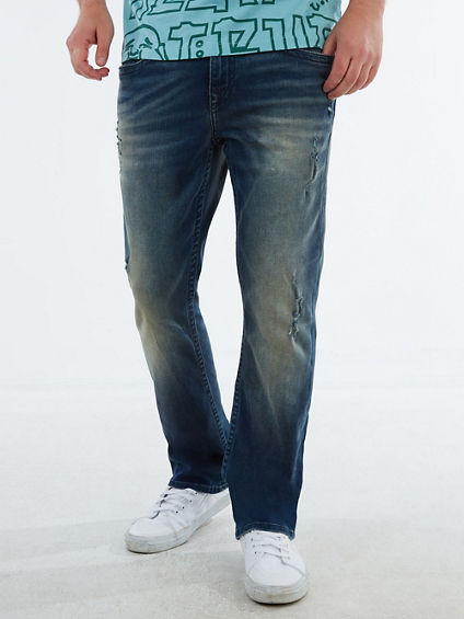 RICKY DISTRESSED STRAIGHT JEAN 32""