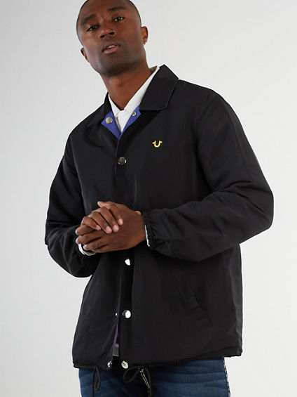 REVERSIBLE COACH JACKET