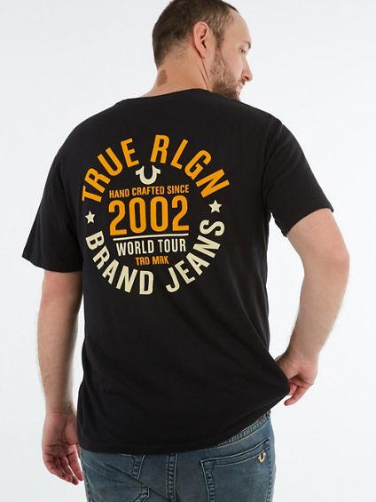 TRUE 2002 CREWNECK TEE