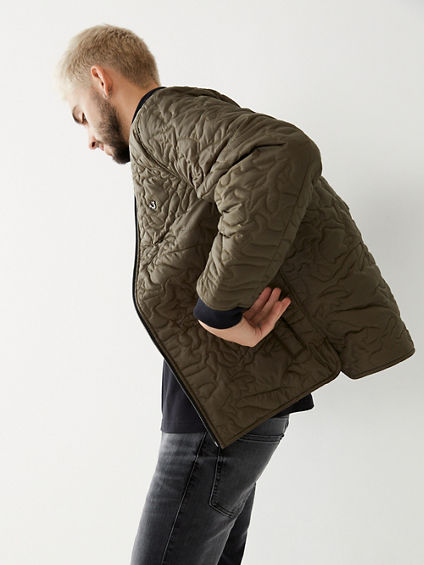 CAMO QUILTED JACKET