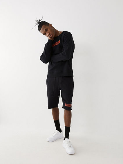 LOGO SWEAT SHORT
