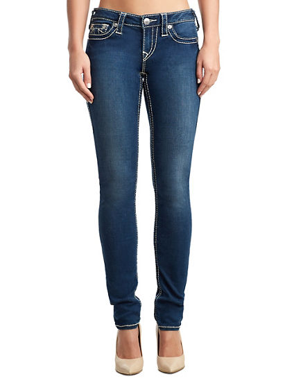 WOMENS BIG T LOW RISE STELLA SKINNY JEAN