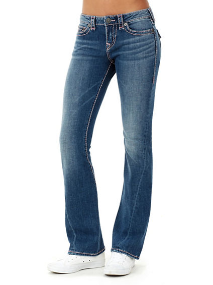 BECCA BOOTCUT TWIST SEAM SUPER T WOMENS JEAN
