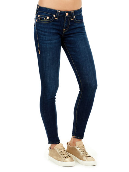 HALLE MID RISE SUPER SKINNY SUPER T WOMENS JEAN