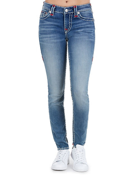CURVY SKINNY NATURAL SUPER T WOMENS JEAN
