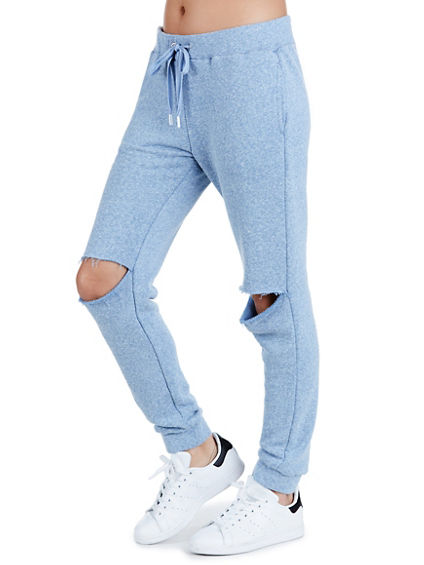 OYSTER KNEE JOGGER WOMENS SWEATPANT