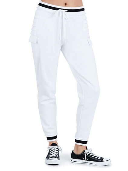WOMENS STRIPE SWEATPANT