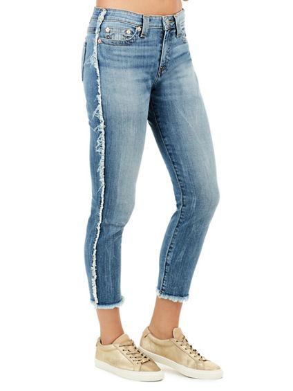 COLETTE HI RISE TAPERED WOMENS SKINNY JEAN