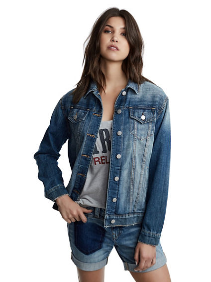 WOMENS TRUCKER  JACKET