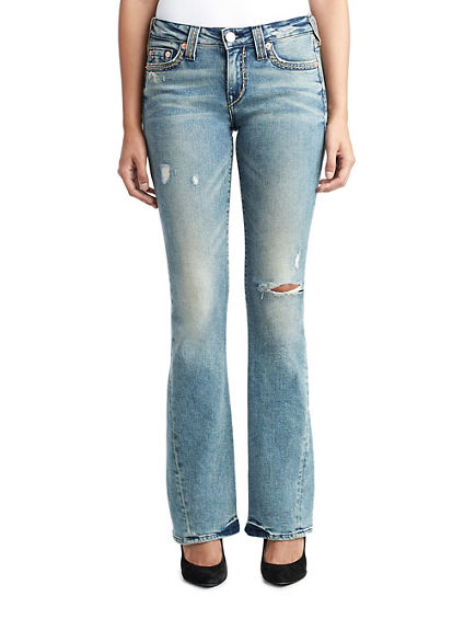 JOEY SUPER T WOMENS FLARE JEAN