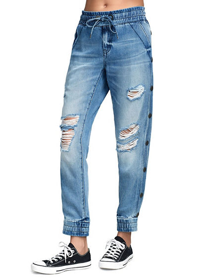 WOMENS DENIM JOGGER