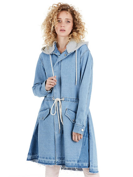 WOMENS LONG JACKET