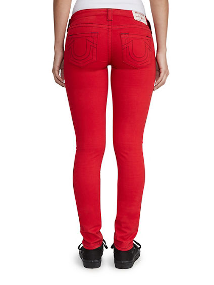 WOMENS SATEEN SKINNY PANT