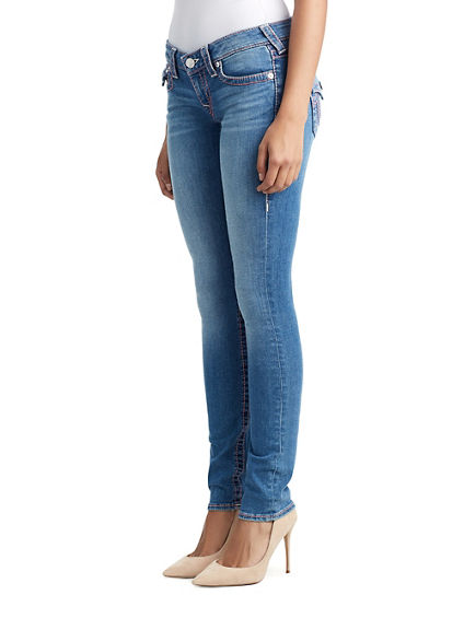 WOMENS BIG T SKINNY JEAN W/ FLAP FOR BREAST CANCER