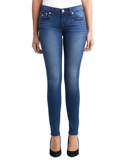 WOMENS SUPER SKINNY JEAN W/ FLAP